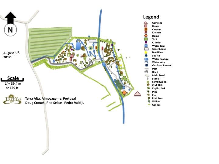 Terra Alta base map, 2012